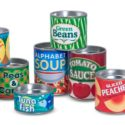 The library will waive late fees in exchange for canned or boxed foods from Monday, May 23 through Tuesday, May 31, 2016.