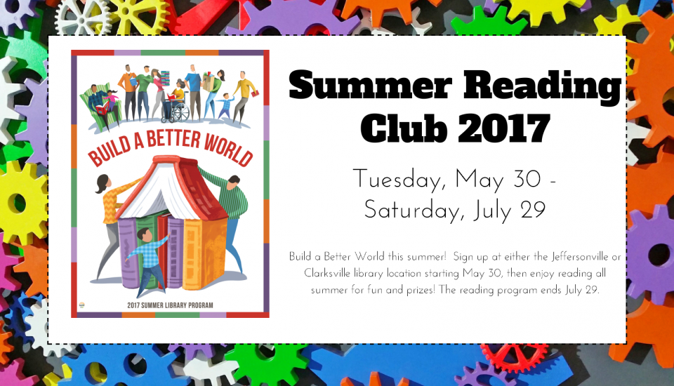 2017 Summer Reading Club