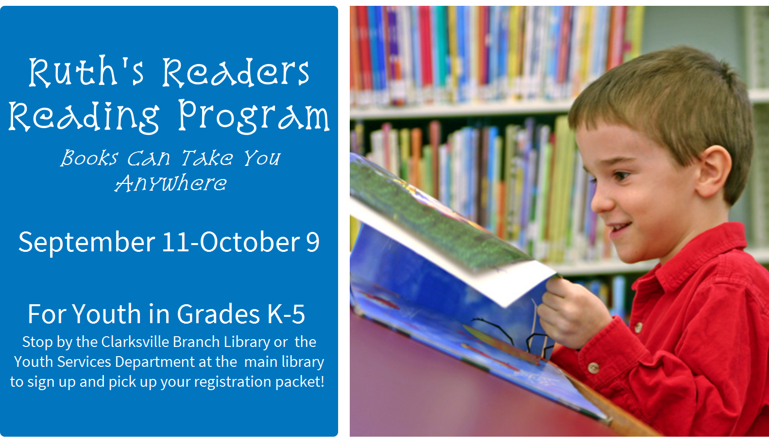 Ruths Readers Reading Program