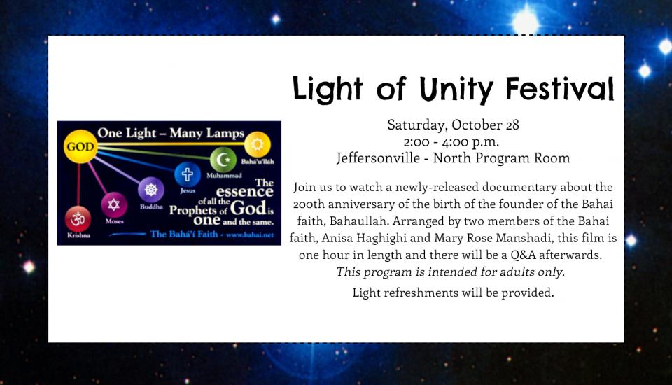 Light of Unity Festival