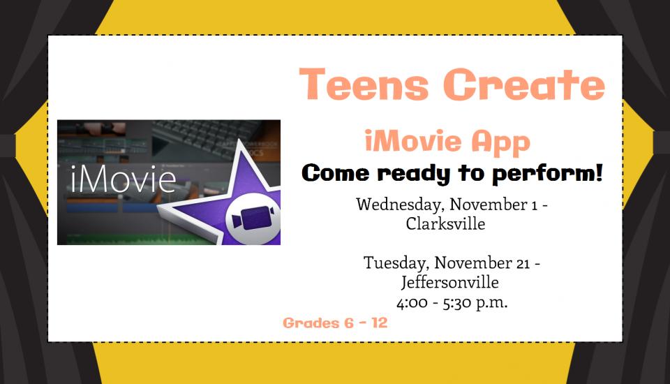November – Teens Create