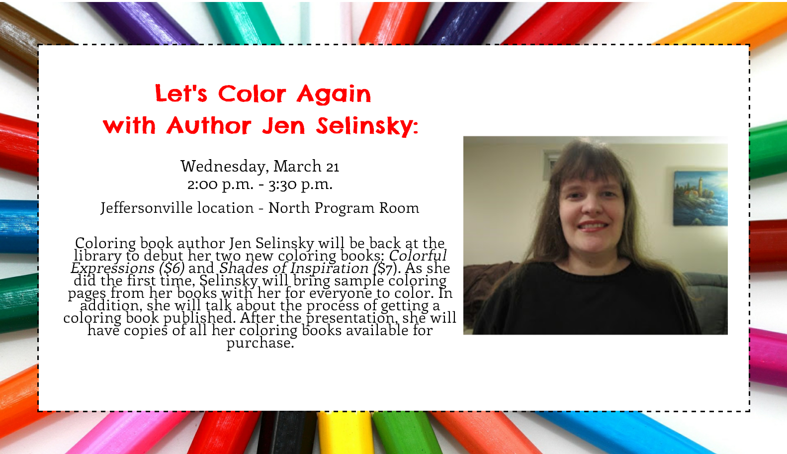 Coloring Books with Jen Selinsky