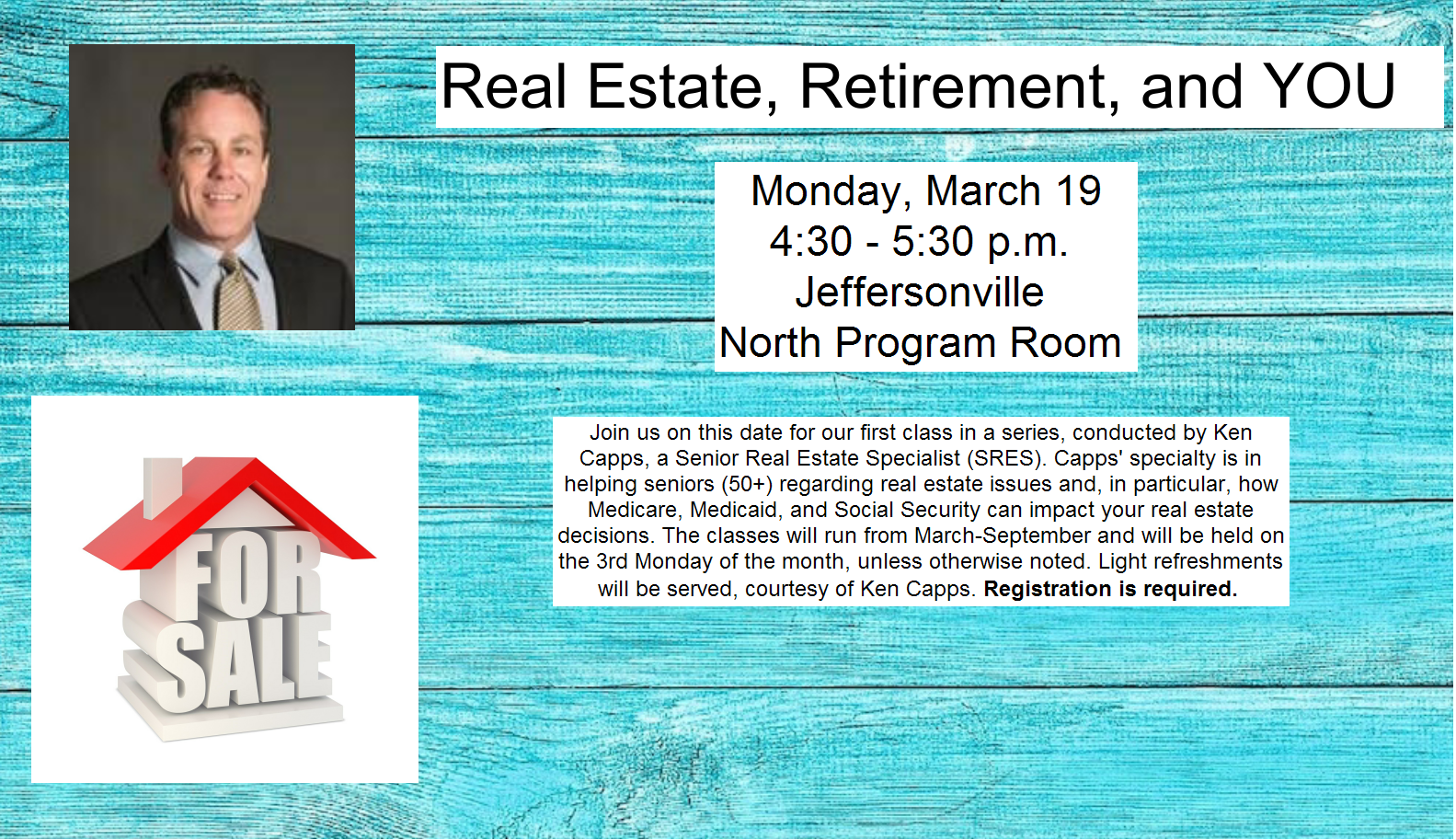 Real Estate, Retirement, and You