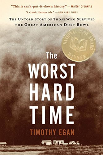book cover of The Worst Hard Time by Timothy Egan