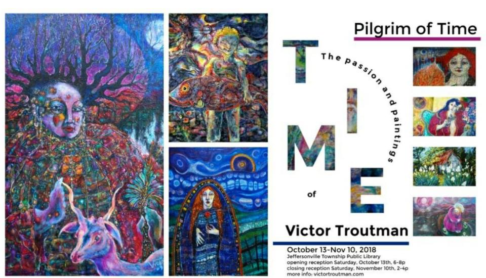 Pilgrim of Time – Art Exhibit