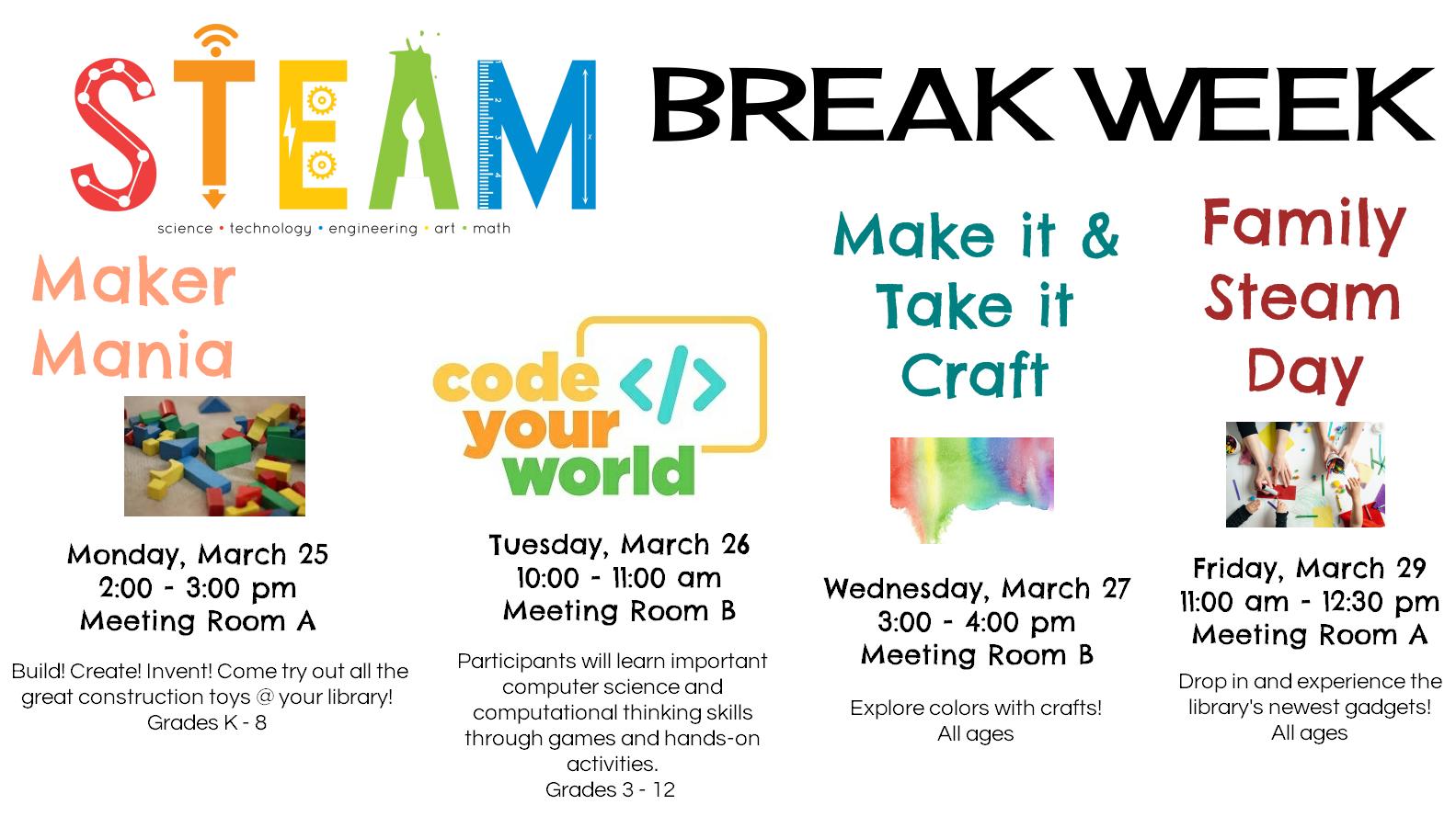 0329 STEAM Break Week
