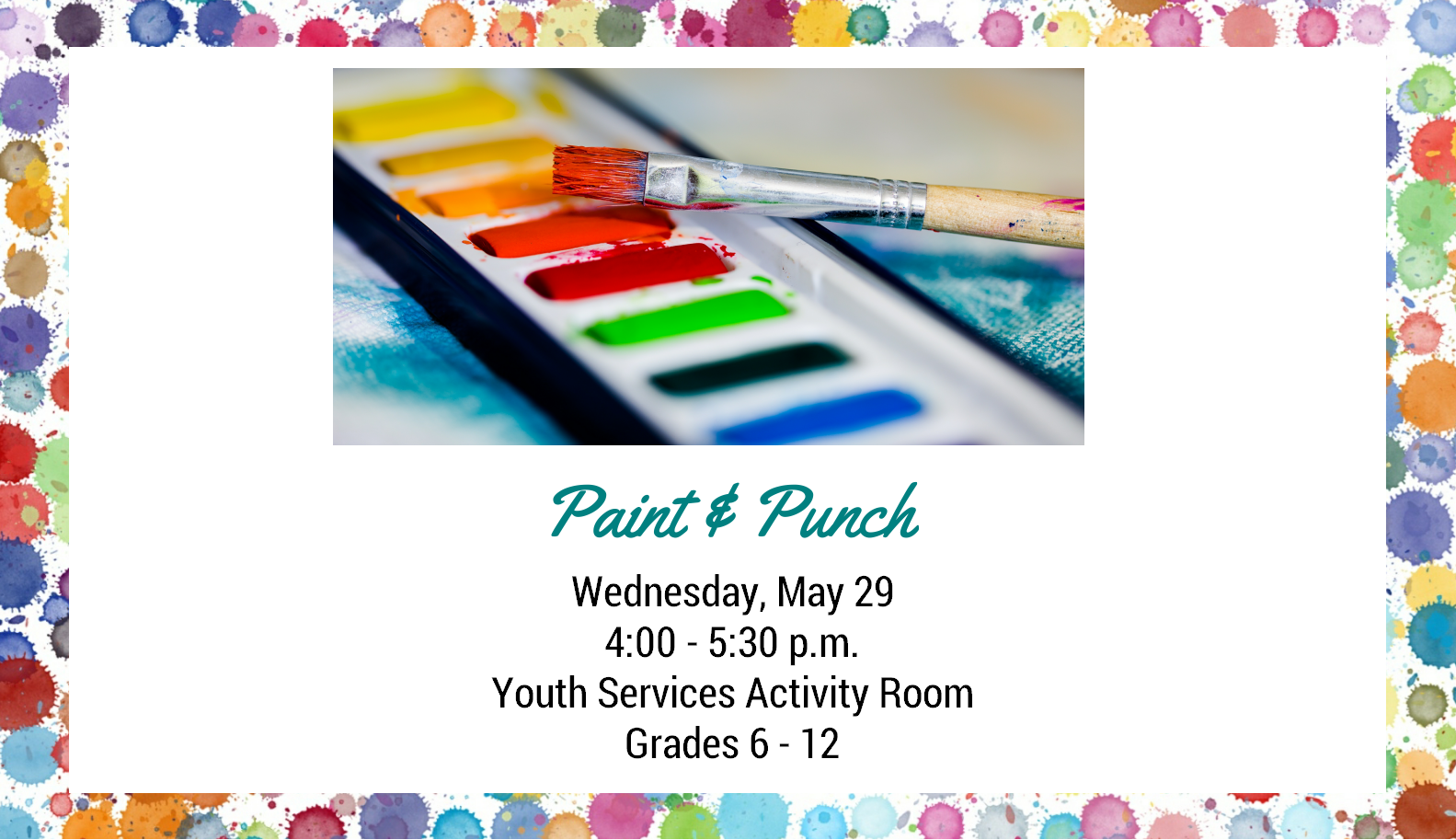 0529 Paint and Punch