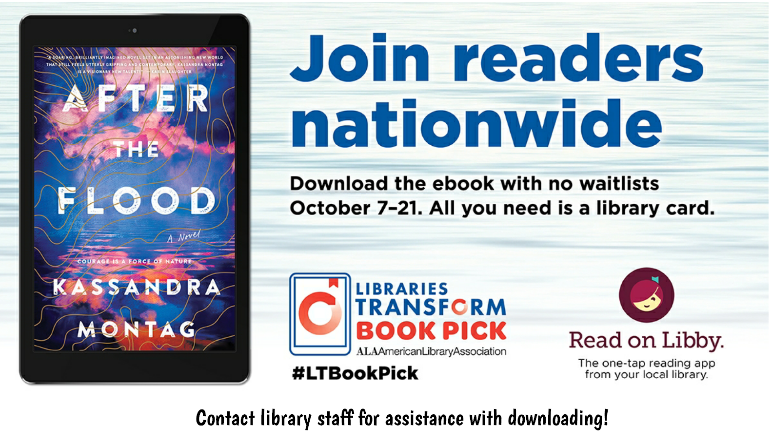 Libraries Transform Book Pick: After The Flood
