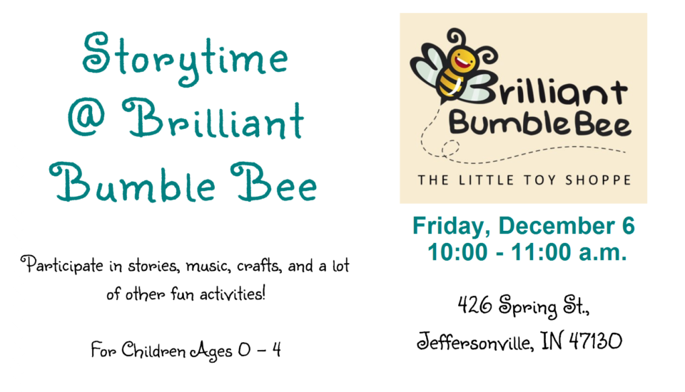 Storytime @ Brilliant Bumble Bee