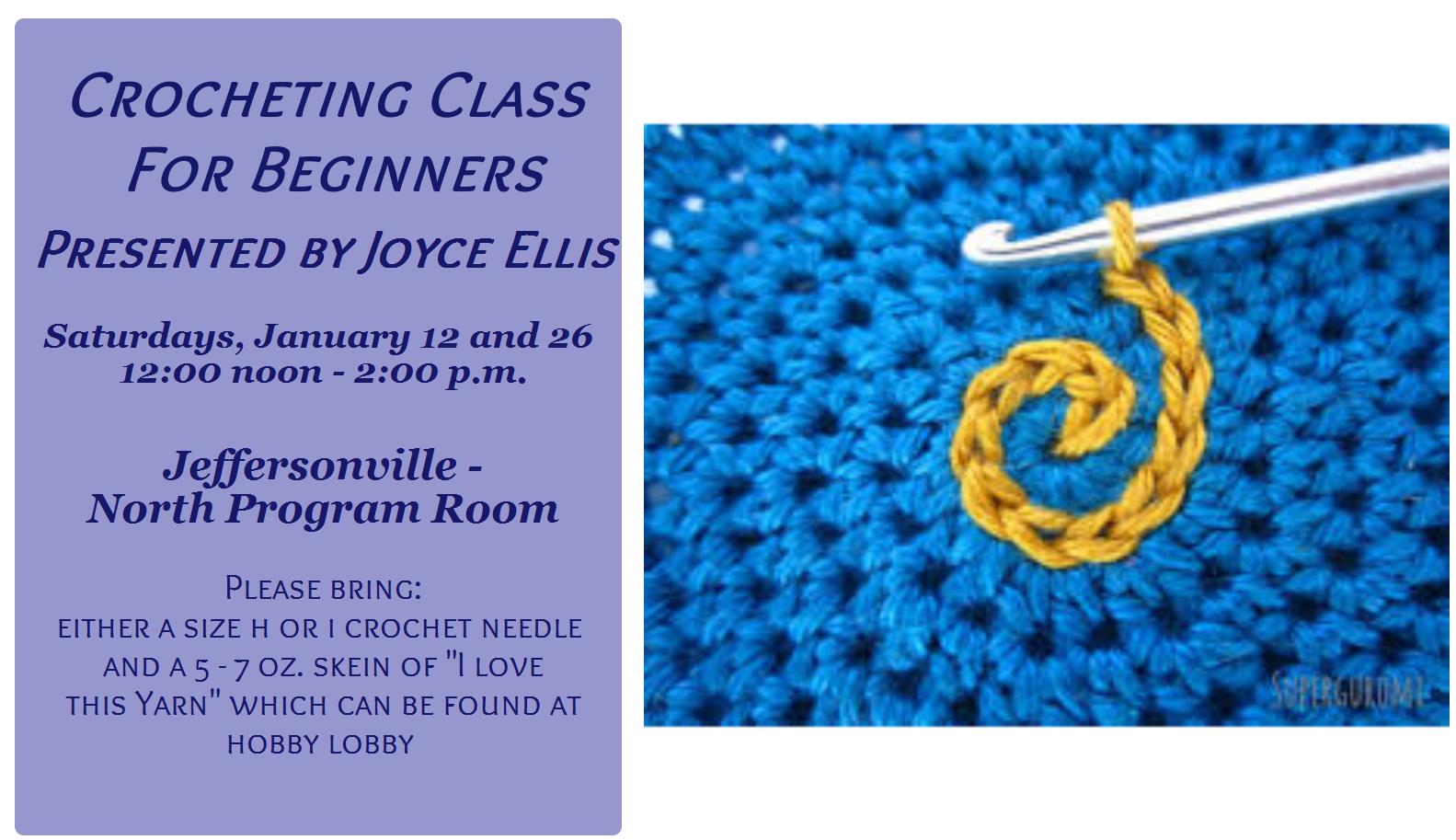 0126 Crochet Class