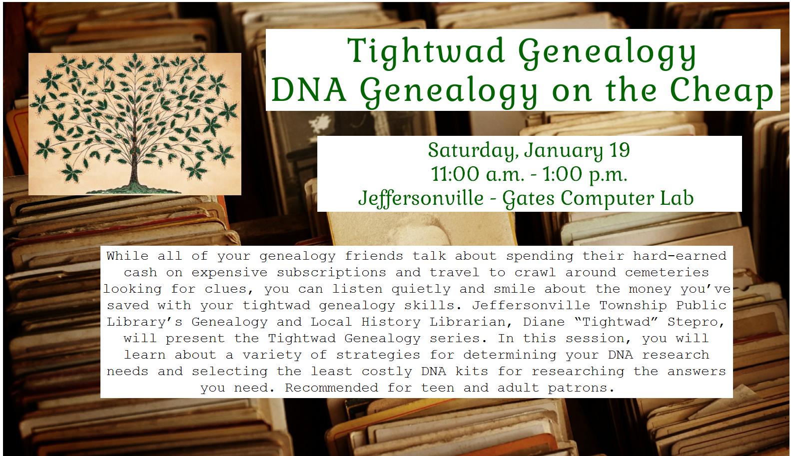 0119 Tightwad Genealogy