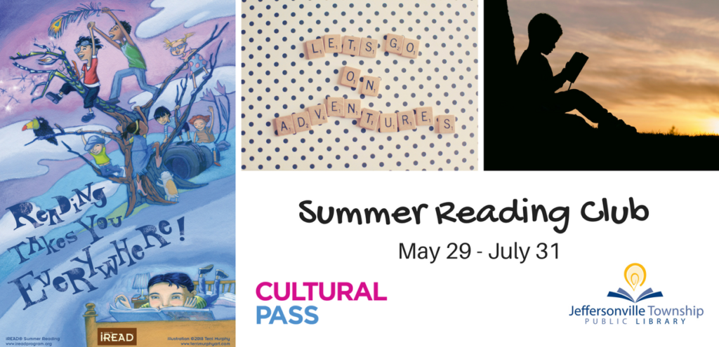 Sign up for Summer Reading Club online with Beanstack!