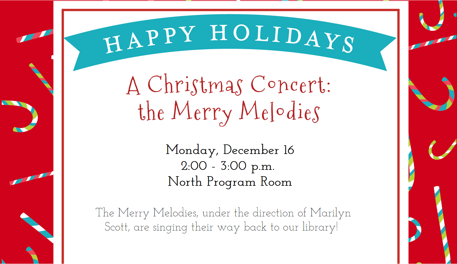 A Christmas Concert by the Merry Melodies