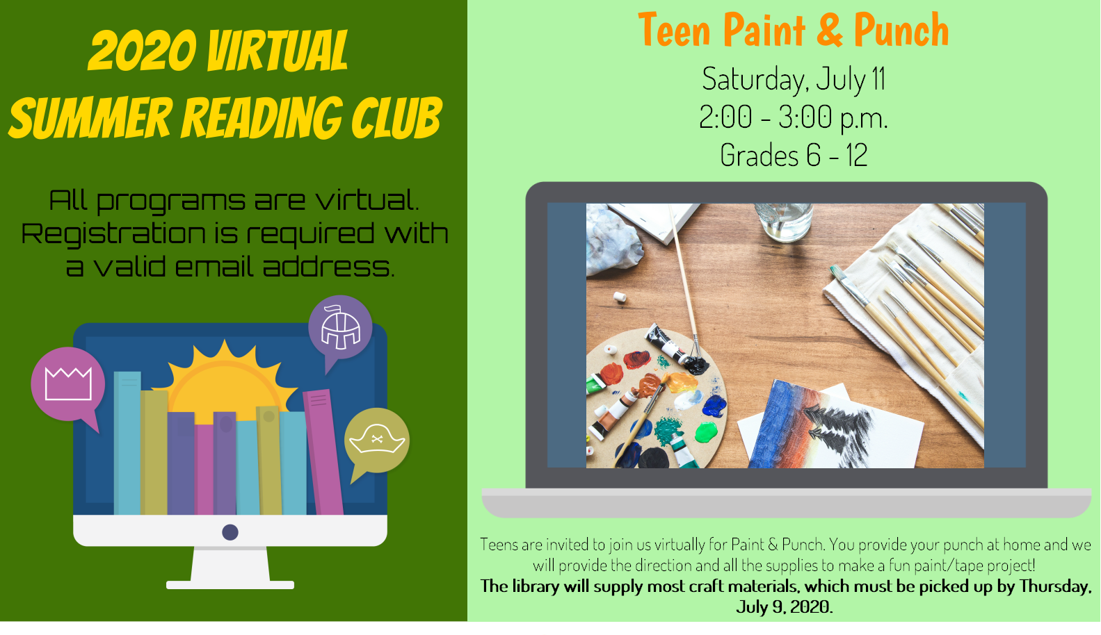 Teen Paint and Punch