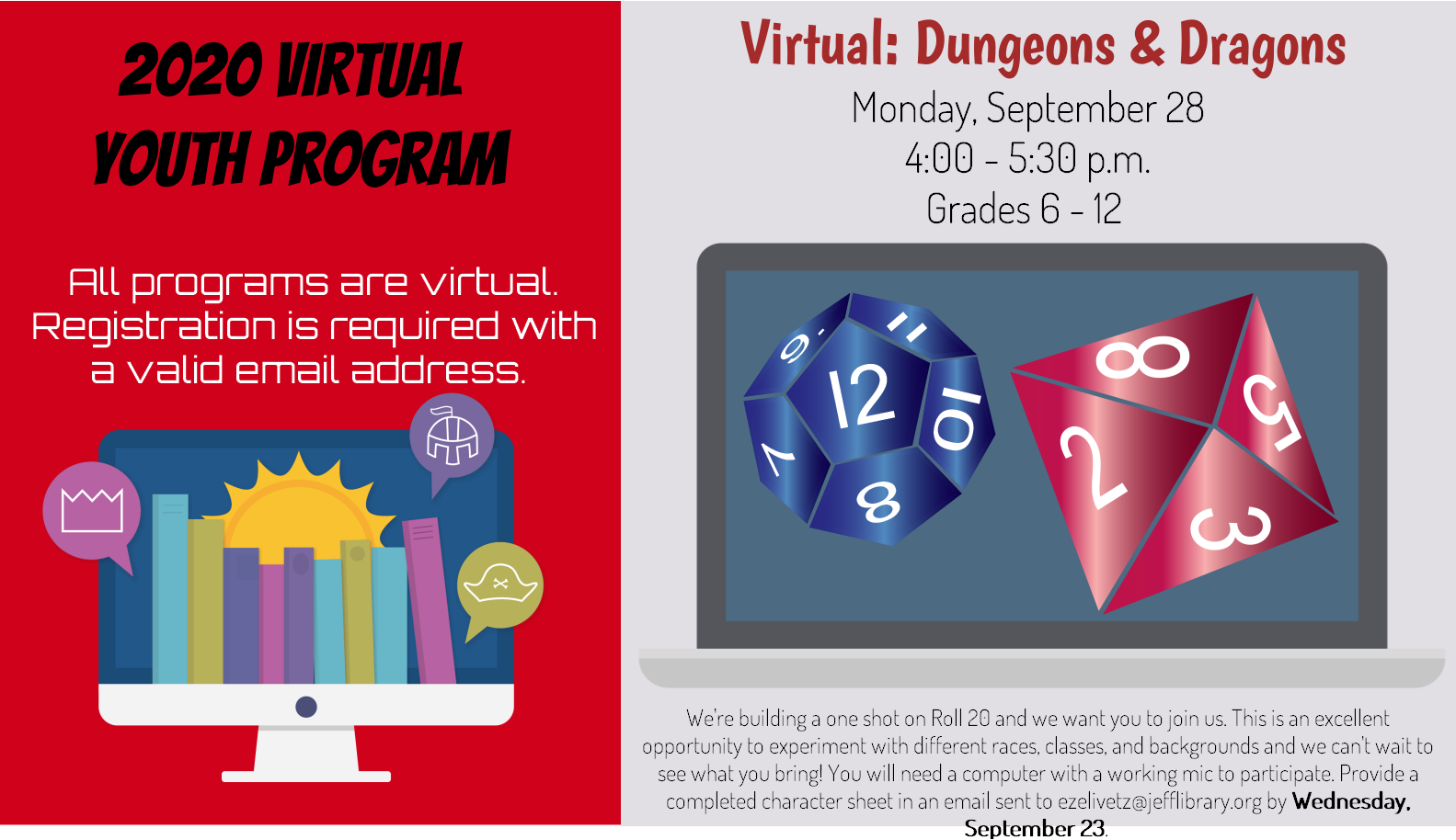 Virtual: Dungeons and Dragons