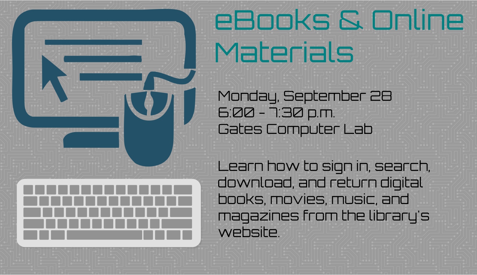 eBooks and Online Materials