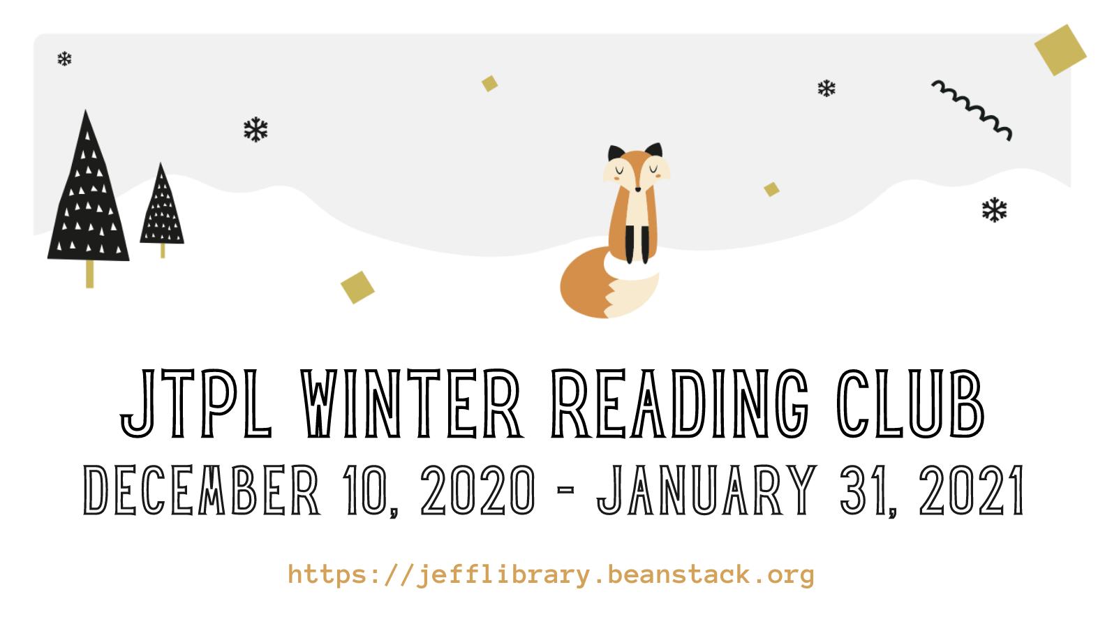 Winter Reading Club 2020-2021