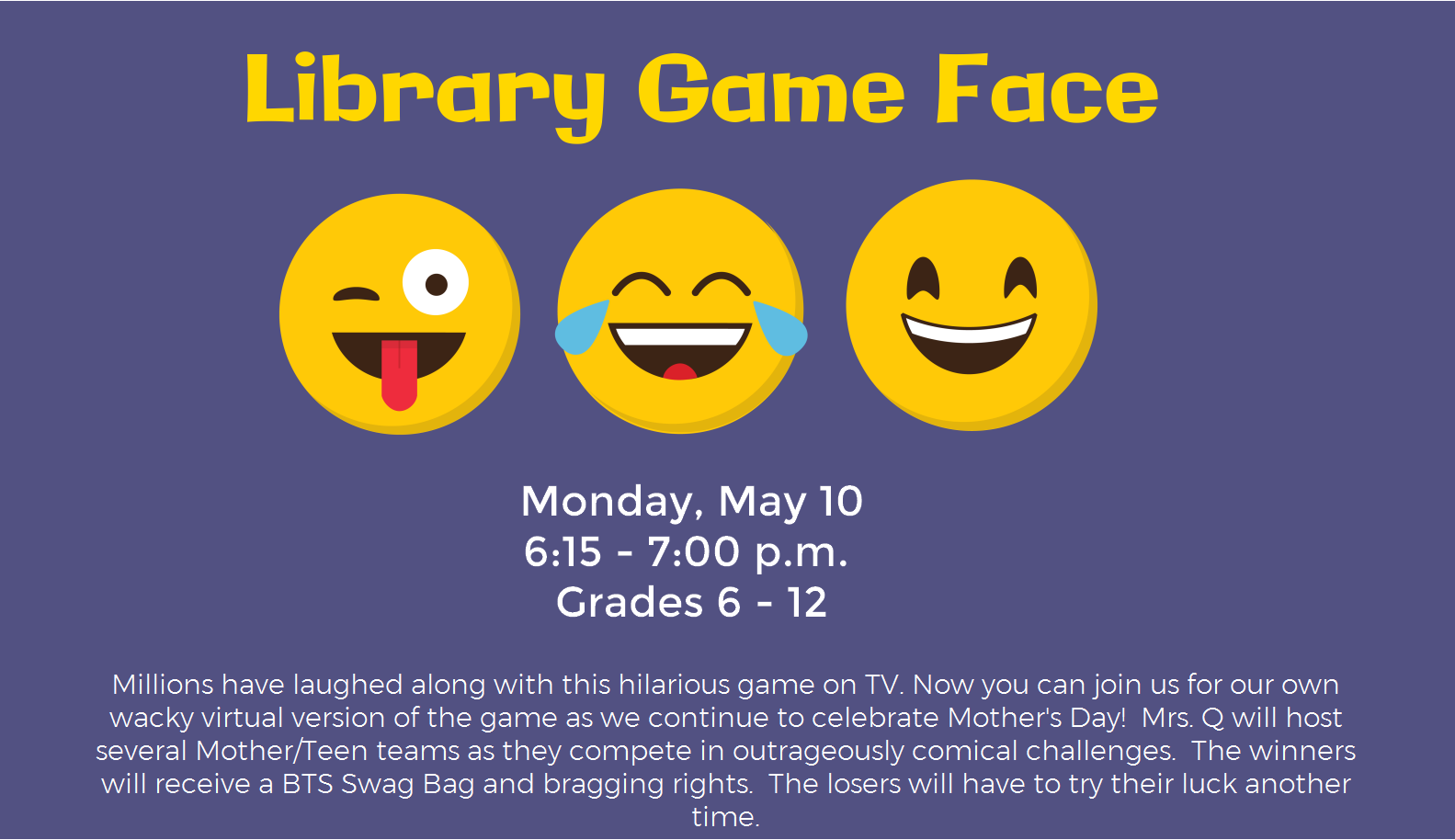 Library Game Face