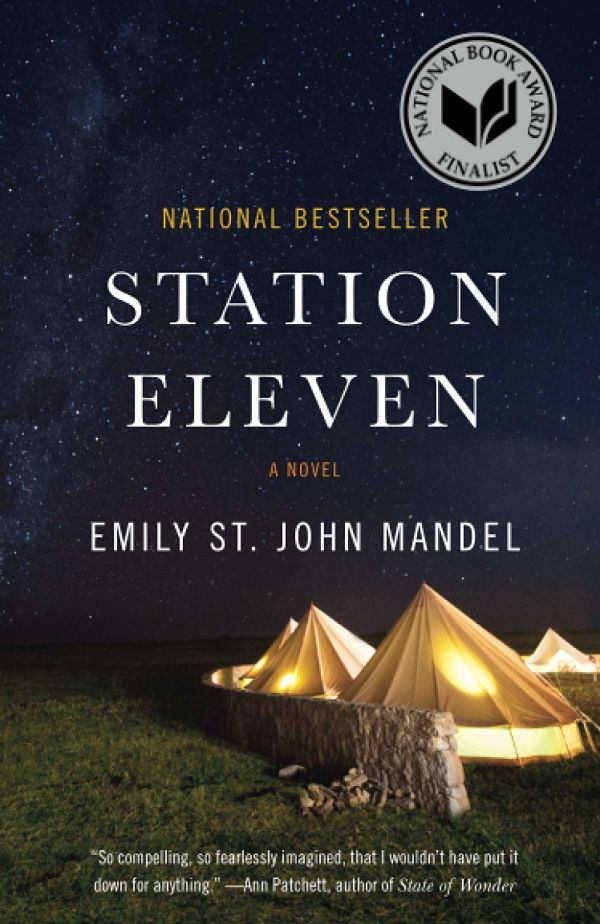 Cover of Station Eleven by Emily St. John Mandel